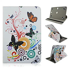 10 inch Universal Colorful Butterfly Tablet Stand Case