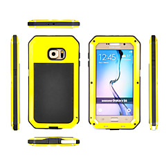 For Samsung Galaxy etui Vand / Dirt / Shock Proof Etui Heldækkende Etui Armeret Metal for Samsung S6