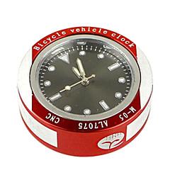 Relógios de bicicleta ( argênteo/Vermelho , liga de alumínio ) - Impermeável/Conveniência/Relógio/Visão Nocturna