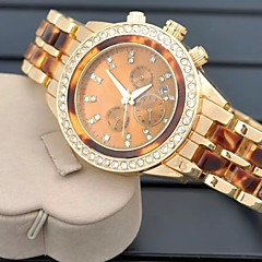 Ladies'  Wrist Watch High-Grade Good Quality Geneva Steel Belt Quartz Analog Fashion Watch Wrist Watch