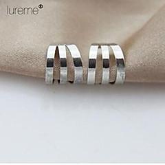 Lureme®European And American Fashion Simple Small Ear Clip Earrings