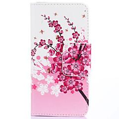 Mert LG tok Kártyatartó / Pénztárca / Állvánnyal / Flip Case Teljes védelem Case Fa Kemény Műbőr LG LG G3