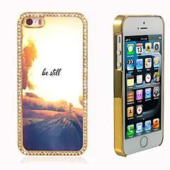 être encore concevoir hybride de luxe bling paillettes brillent avec étui cristal strass pour iphone 5 / 5s