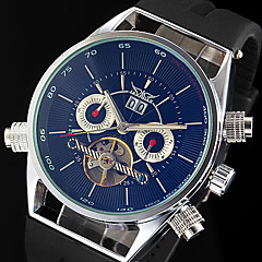 WINNER® Men's Auto-Mechanical Skeleton Silicone Strap Luxury Watch Cool Watch Unique Watch Fashion Watch