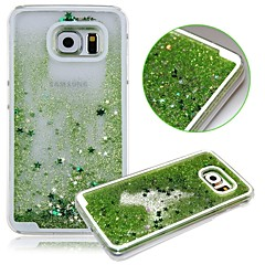 KARZEA™Dual Layer Plastic 3D Flowing Liquid Luxury Bling Glitter Stars Case for Samsung S6 G9200(Assorted Colors)