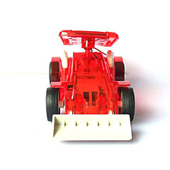 Solar Bulldozer Bull Dozer Toy Gift for Kids Children Red
