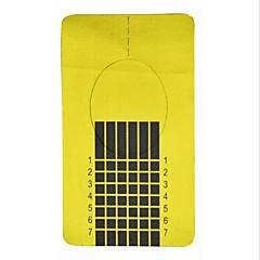 100pcs Golden Form nail art strumenti per acrilico& Consigli gel uv