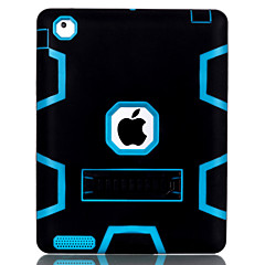 C3 Models Horizontal Stand TPU and PC Triple Phone Case for iPad 4 (Assorted Colors)