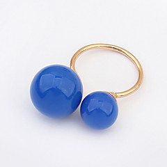 European Style Fashion Simple Ball Ring