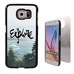 Explore Design Aluminum Hard Case for Samsung Galaxy S6