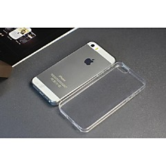 casos de telefone para iphone 5 e 5s para o telefone da maçã 0,3 milímetros TPU tampa do telefone transparente de proteção de borracha
