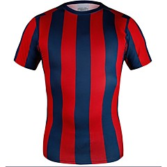 Super Fit Fasion High Elastic Football T-shirt
