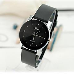 orologi delle donne di modo coreano della vigilanza cintura nera orologio al quarzo di alta qualità