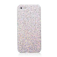 prata brilhando caso difícil para iphone 5s 5