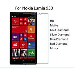 10pcs HD Transparent Protector Screen Film for Nokia Lumia 930
