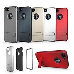 stents armadura tríade europa e os estados unidos pc / TPU shell telemóvel protecion para iphone 5,5s uma variedade de cores