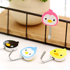 Animal Pattern Adhesive Hook Set(4 PCS)