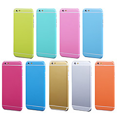 Full Body Side+Top+Back+Button Pure Color Skin Sticker for iPhone 6(Assorted Colors)