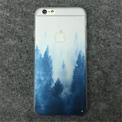 Landscape Painting Pattern TPU Phone Case For iPhone 5/5S