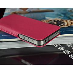Fashion® ultra conception mince pochettes en cuir geniune pour iPhone 4 / 4s (couleurs assorties)