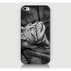 Look At the Cat Pattern Case Back Cover for Phone4/4S Case