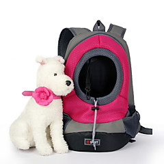 Cat Dog Carrier & Travel Backpack Pet Baskets Portable Breathable Green Blue Pink Yellow Nylon