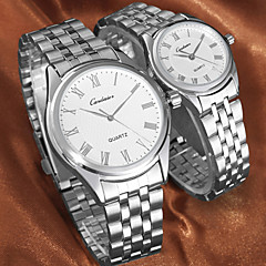 Couple's Dress Watch Japanese Quartz Water Resistant Stainless Steel Wrist watch