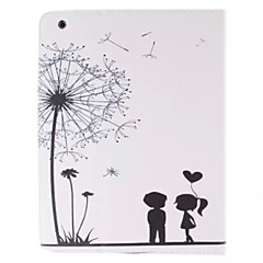 Two Children Picture PU Leather Full Body TPU Case with Card Holder for Ipad 2 Ipad 3 Ipad 4