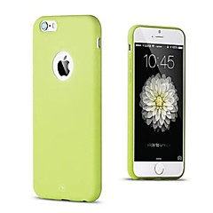 TPU Soft Hole Case for iPhone 4/4S(Assorted Colors)