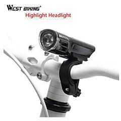 LED taskulamput / Pyöräilyvalot / Polkupyörän etuvalo / turvavalot LED - Pyöräily Säädettävä fokus 18650 160 Lumenia Patteri