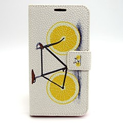 Lemon Bike PU Leather Case with Stand for Samsung Galaxy S6/S5/S4/S3/S3 mini/S4 mini/S5 mini/ S6 edge/note 3/note 4