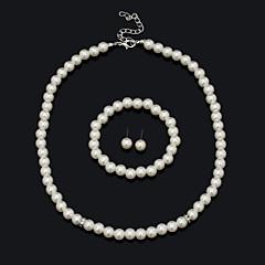 Vintage/Sødt/Fest/Kontor/Casual - Damer - Inkluderer ( Imitation af ægte perle )