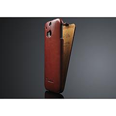 Pro HTC pouzdro Flip Carcasă Oboustranný Carcasă Jednobarevné Pevné PU kůže HTC