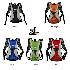 WEST BIKING® Cycling Mountain Biking Backpack Bag 2L Waterproof Breathable Polyester Outdoor Riding Bikebag