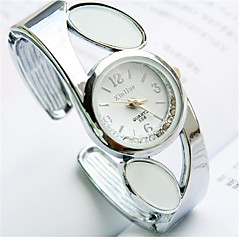 Fashion Circular Shaped Mineral Glass Quartz Bracelet Watch(White,Red,Balck,Pink)(1Pc) Cool Watches Unique Watches