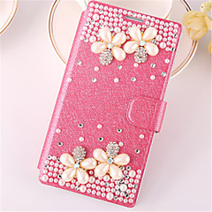 PU Leather Pure Manual Set Auger Full Body Cases For Galaxy Win/Core Prime/Alpha/Grand Max/Core 2/Style Duos/Core Max
