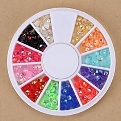 Biżuteria na paznokcie/Inne dekoracje - Palec - Streszczenie/Zwierzę/List/Ślub - ABS - 5.5*5.5*0.5 - 1