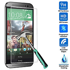 Ultra Thin HD Clear Explosion-proof Tempered Glass Screen Protector Cover for HTC One M8
