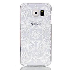 Varten Samsung Galaxy kotelo Läpinäkyvä Etui Takakuori Etui Pitsidesign PC Samsung S6 edge / S6 / S5 Mini / S5 / S4 Mini / S3 Mini