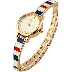 Women's Diamante round Dial Alloy Band Quartz Analog Wrist Watch Cool Watches Unique Watches