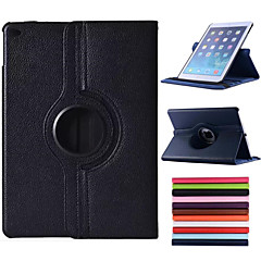 360 Degree Rotating 100% PU Leather Covered include Back Case Full Body Case for iPad Air (Assorted Colors)