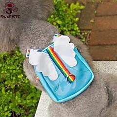 divertimento di Pets® bella ala del viaggio zaino di figura di angelo per gli animali domestici i cani (colori assortiti, taglie)