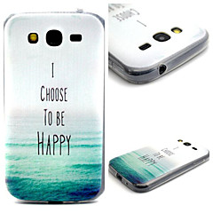 morze wzór TPU Materiał komórkowy Samsung Galaxy Grand neo i9060 / g355h / g360 / g850 / G530 / j1 / G350
