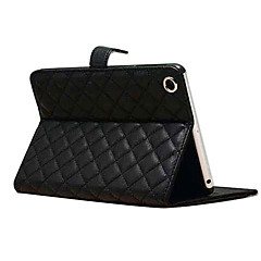taitto rhombus PU nahkainen jalusta iPad mini 1/2/3 (eri värejä)