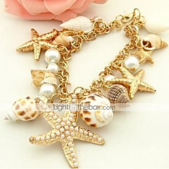 MISSING U Alloy / Imitation Pearl / Cowry Bracelet Cuff Bracelets Daily / Casual 1pc