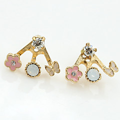 XXI Women's The Newest Fashion Casual Gold Plated/Rhinestone  Earring 1pc