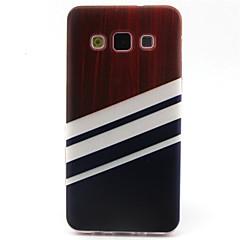For Samsung Galaxy etui Mønster Etui Bagcover Etui Geometrisk mønster TPU for Samsung A5 A3