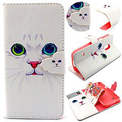 sød kat mønster med kort pose fuld krop tilfældet for Samsung Galaxy S3 mini / s4 / s5 mini