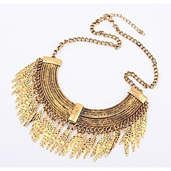 Water Drop Alloy Necklace Choker Necklaces Party/Daily/Casual 1pc