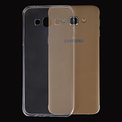 Magie Spider® ultradünne transparente TPU Tasche mit Display-Schutz für Samsung-Galaxie A3 / A5 / A7 / A8